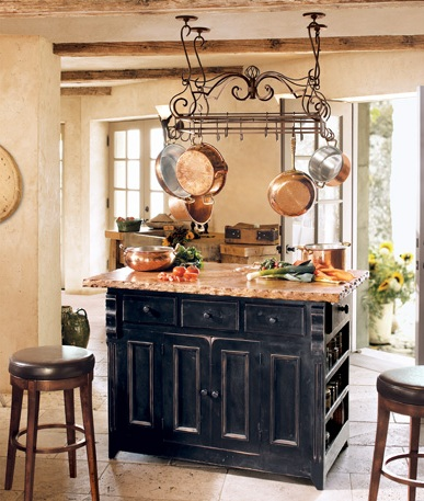 Italian style kitchen ideas afreakatheart for Decor island