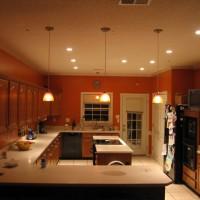 4 вида освещения кухни