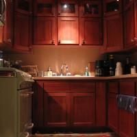 Дизайнерское решение для маленькой кухни