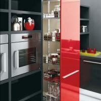 Современный кухонный шкаф.